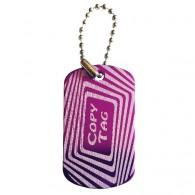 Copy Tag - Double tag - Purple