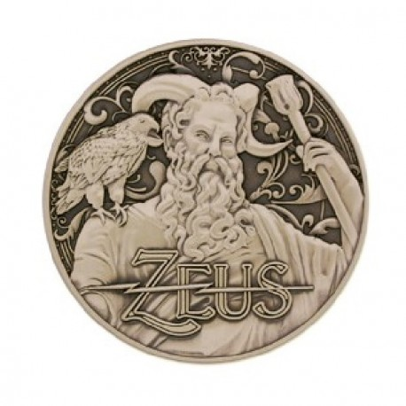 "Geocoin ""Greek Gods"" 12 - Zeus"