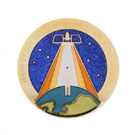 "Geocoin ""Original Blue Switch"""