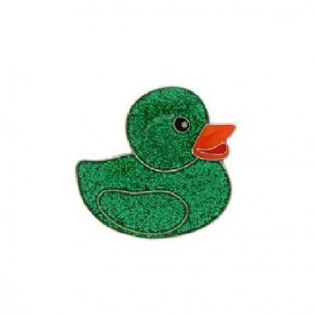 "Geocoin ""Geo Duckies"" verde - Limited Edition"