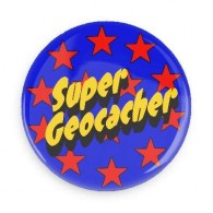Super Geocacher button