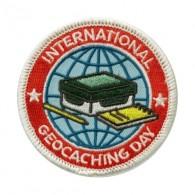 "Patch ""International Geocaching Day"" 2016"