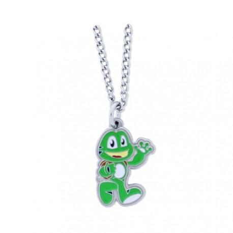 "Geocoin Colar ""Signal the frog"""