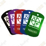 Custom Travel tag - TB shape