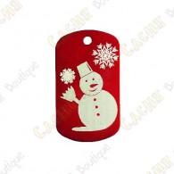 "Traveler ""Snowman"" - Red"