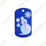 """Traveler """"Snowman"""" - Blue"""