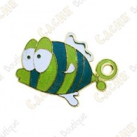 "Geocoin ""Dream Fish"" - Verde"