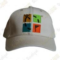 Gorra logo Geocaching color - Beige