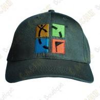 Gorra logo Geocaching color - Caqui