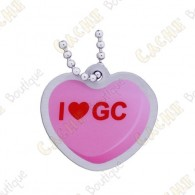 "Traveler ""I love GC"" - Pink"