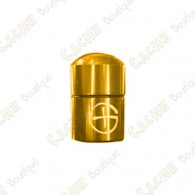 "Magnetic Nano Cache ""Geo"" - Gold"