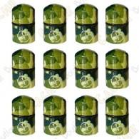 """Nano Cache magnética """"Geo"""" x 12 - Camuflagem Verde"""
