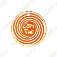 Copy Tag - Geocoin/Double tag - Naranja