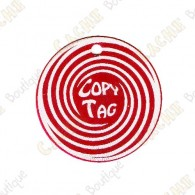 Copy Tag - Geocoin/Double tag - Rojo