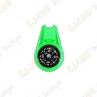Mini bússola - Verde