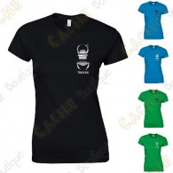 Trackable T-shirt with your Teamname, for Women