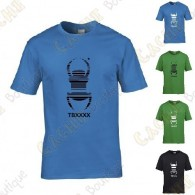 "Trackable ""Travel Bug"" T-shirt for Kids - Black"