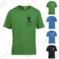 Trackable T-shirt with your Teamname, for Kids