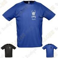 T-Shirt technique trackable avec votre Pseudo, Homme