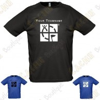 T-shirt técnica com seu Apelido, Homem