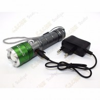Lampe cree 2000 lumen + UV - Rechargeable