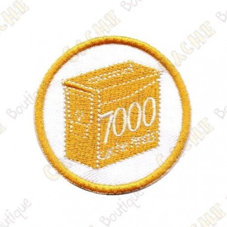 Geo Score Patch - 7000 Finds