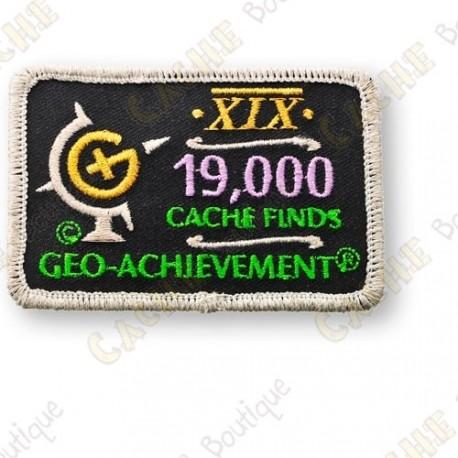 Geo Achievement® 19 000 Finds - Patch