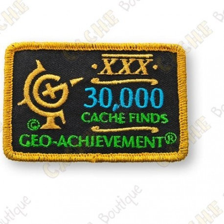 Geo Achievement® 30 000 Finds - Patch