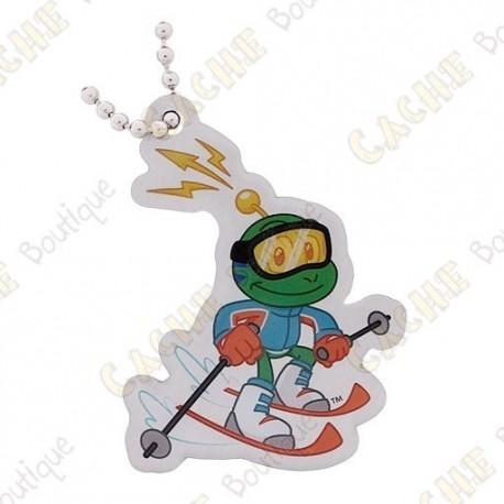 Traveler Signal the frog - Skiing