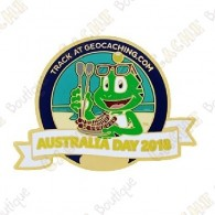 "Geocoin ""Australia Day 2018"""