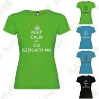 "Camiseta ""Keep Calm"" Mujer"
