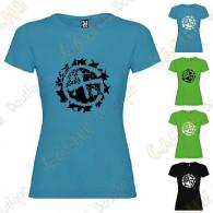 "T-shirt ""Geo-Brushwood"" Mulher"