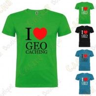 """I love Geocaching"" T-shirt for Kids"