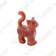 Trackable LEGO™ cat - Brown