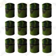 Nano Cache magnética x12 - Camuflagem Verde