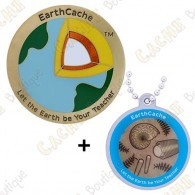 "Geocoin ""Earthcache"" 2018 + Travel Tag"