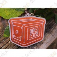 Gingerbread Ammo can travel tag - Limited Edition