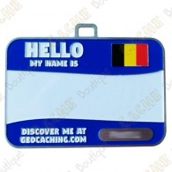 Name tag trackable - Bélgica