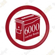 Geo Score Button - 6000 finds