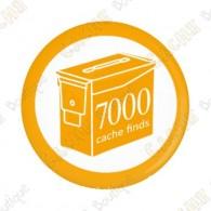 Geo Score Button - 7000 finds