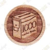 Geo Score Woody - 1000 Finds