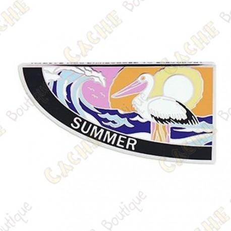 """Geocoin """"4 Seasons"""" - Summer"""