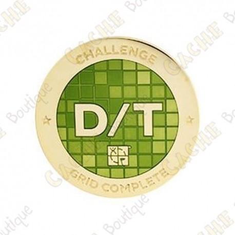 "Geocoin ""Challenge"" - Difficulty Terrain 81 Grid"