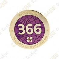 "Geocoin + Travel Tag ""Challenge"" - 366 days"