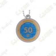 "Traveler ""Milestone"" - 50 Finds"