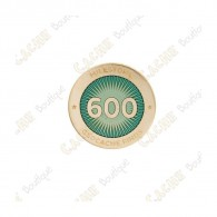 "Pin's ""Milestone"" - 600 Finds"