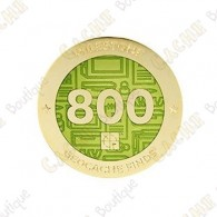 "Geocoin ""Milestone"" - 800 Finds"