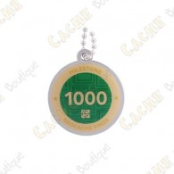 "Travel tag ""Milestone"" - 1000 Finds"