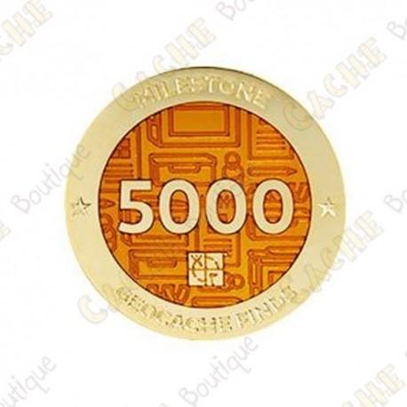 "Geocoin ""Milestone"" - 5000 Finds"