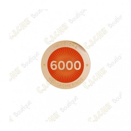 """Pin's """"Milestone"""" - 6000 Finds"""